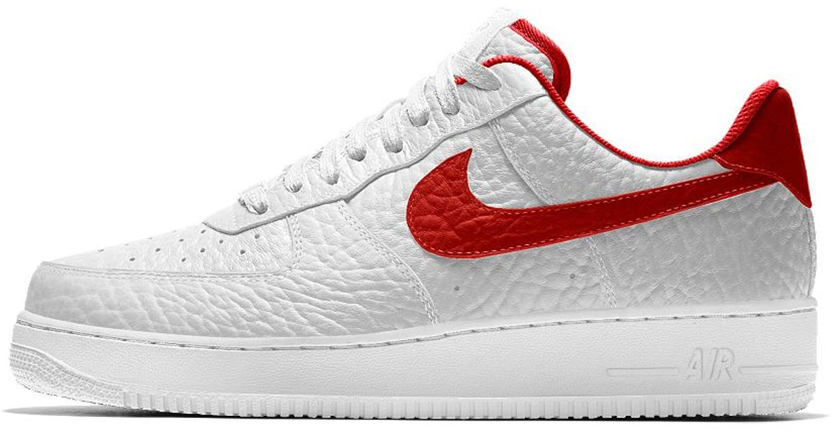 detailed look 6482a fd40a Nike Air Force 1 Low Premium Id (washington Wizards) Men's Shoe in White  for Men - Lyst