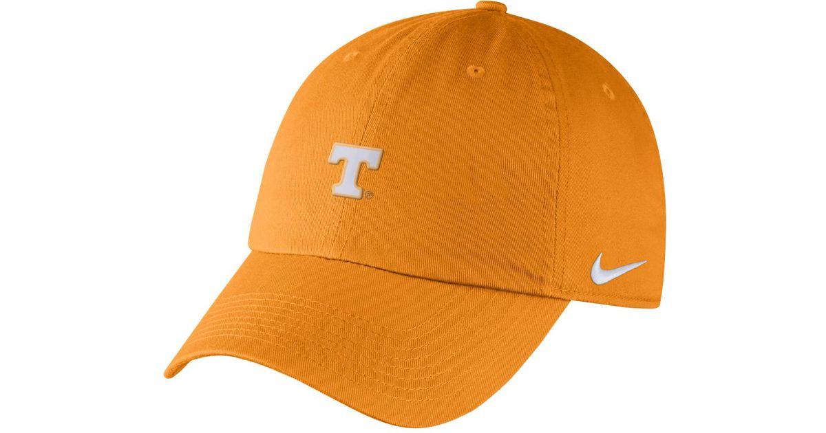 cb706bc03d6c1 ... wholesale lyst nike college heritage 86 tennessee adjustable hat orange  in orange for men c9ba5 a841f ...