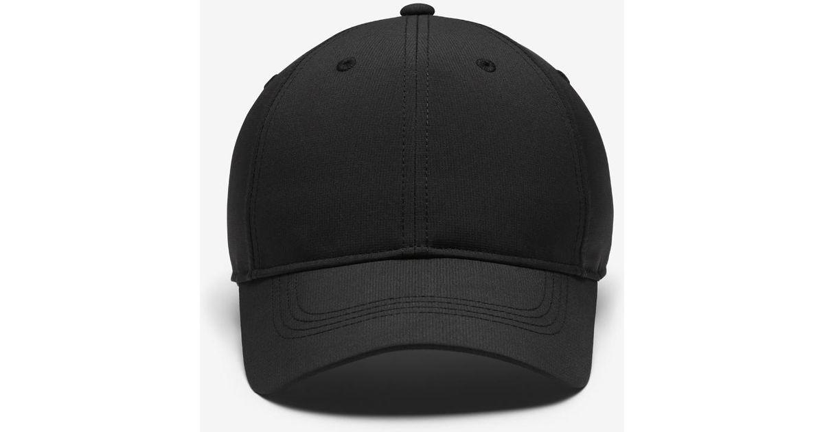 Lyst - Nike Legacy 91 Custom Tech Men s Golf Hat (black) - Clearance Sale  in Black for Men f30af46d9d4