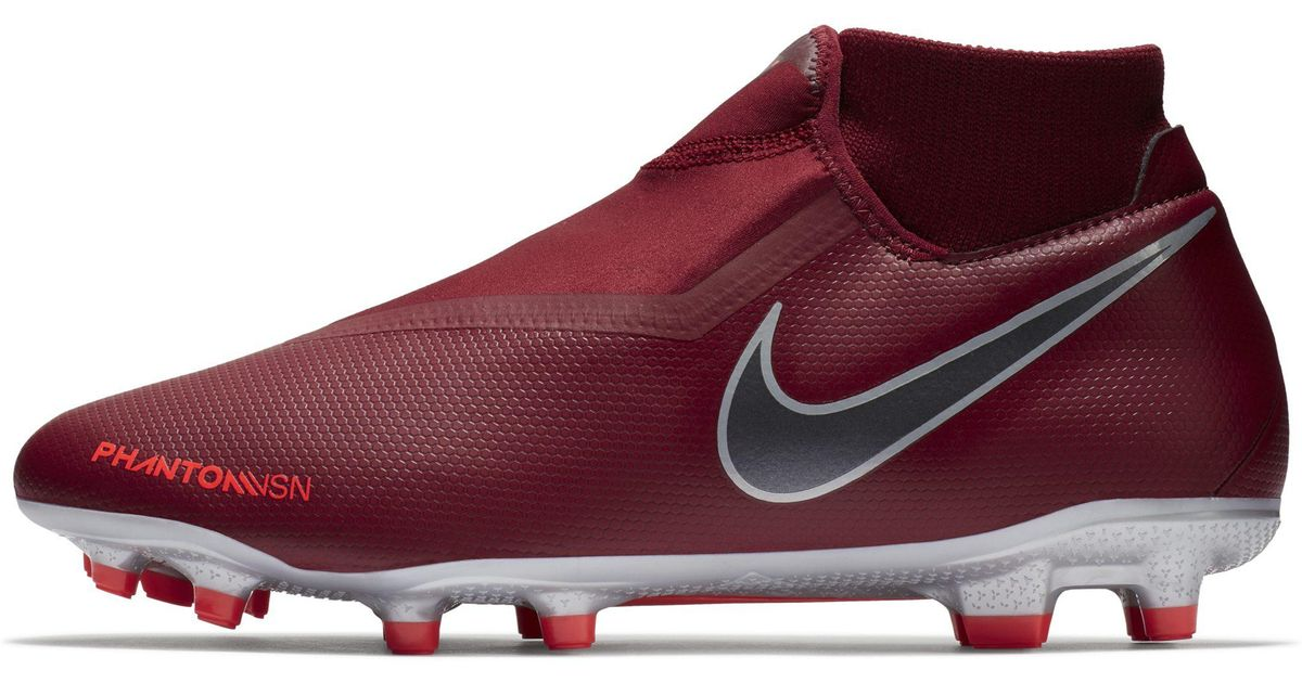 huge selection of faa67 fb751 Nike Red Phantom Vision Academy Dynamic Fit Mg Multi-ground Football Boot