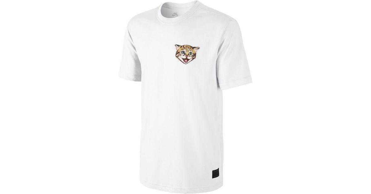 nike sb cat shirt