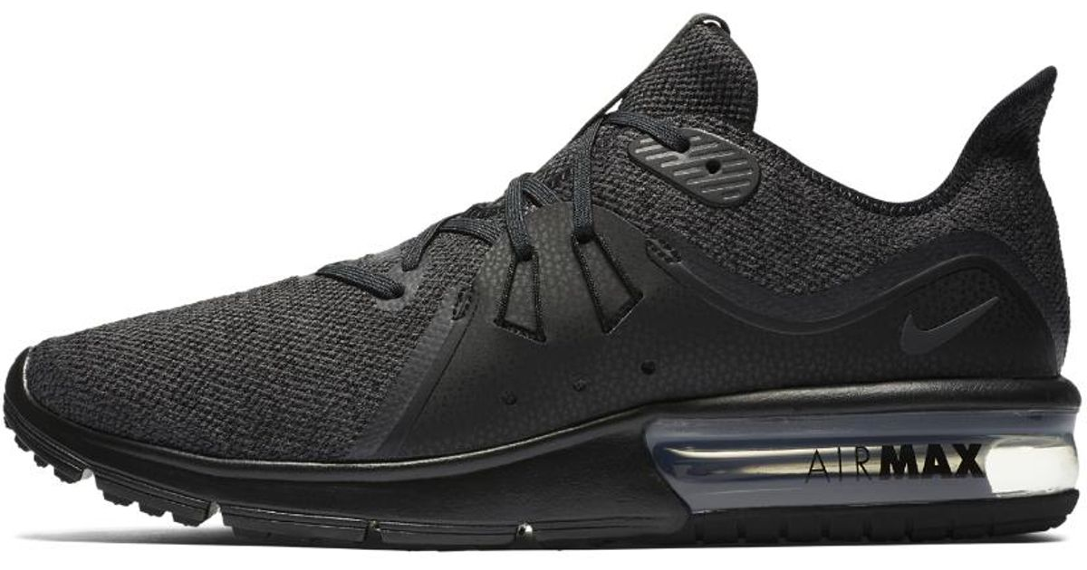 size 40 bd78f 0a6c0 Lyst - Nike Air Max Sequent 3 Men s Running Shoe in Black for Men