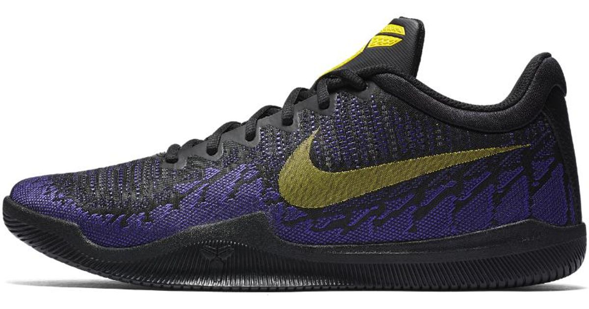 buy popular 472b3 a9681 Nike Mamba Rage Men s Basketball Shoe in Blue for Men - Lyst