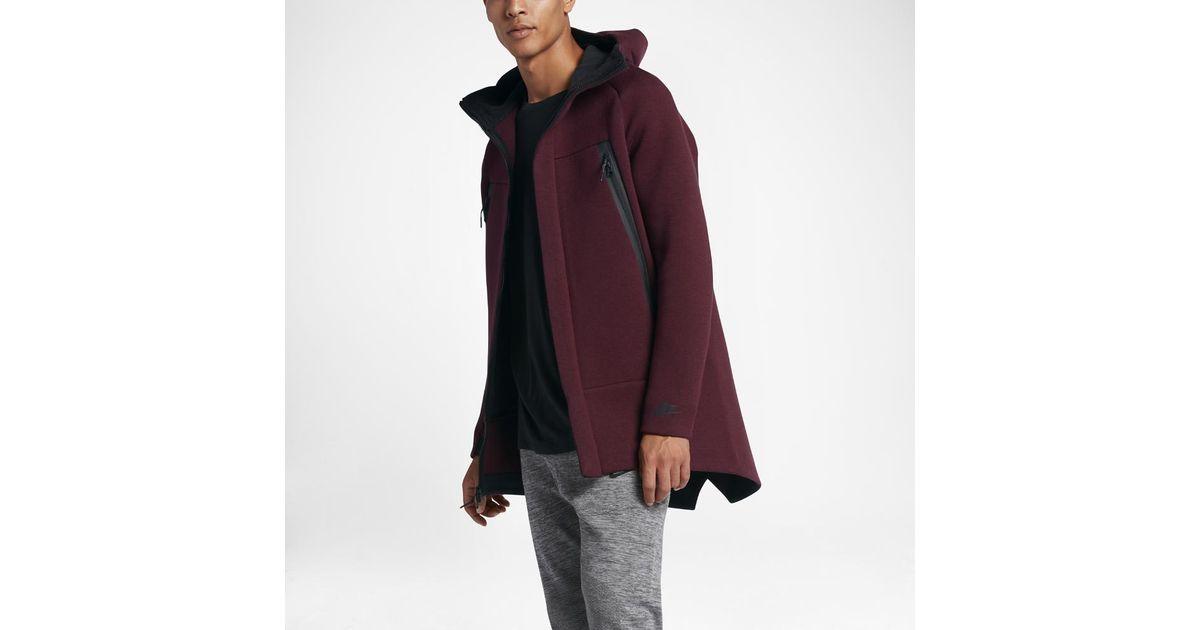 1a3b07d172bd Lyst - Nike Sportswear Tech Fleece Men s Parka in Purple for Men