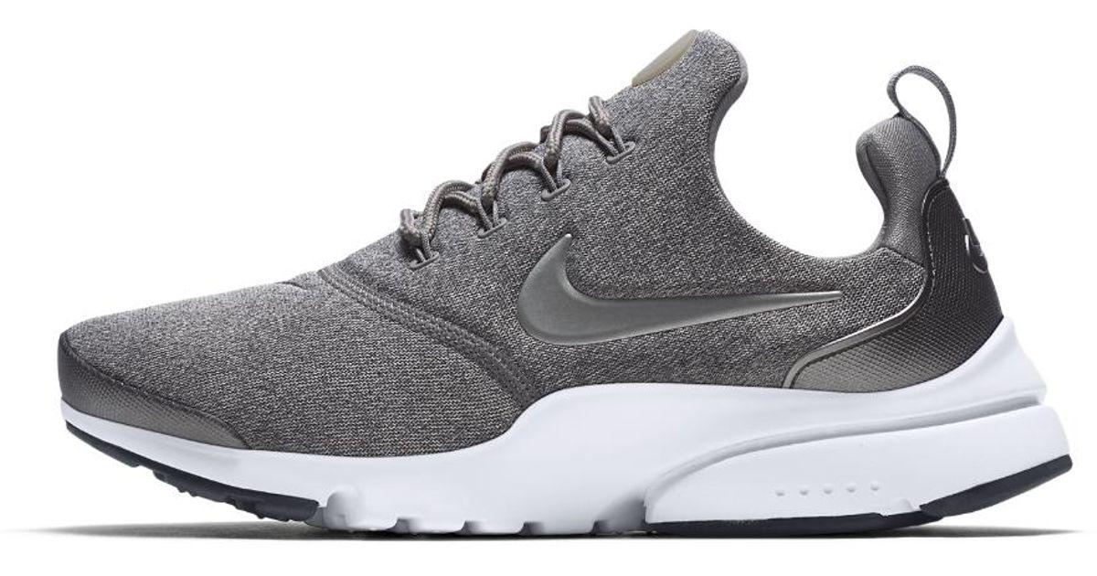 hot sale online 22614 ffc2d Nike White Presto Fly Se Women's Shoe