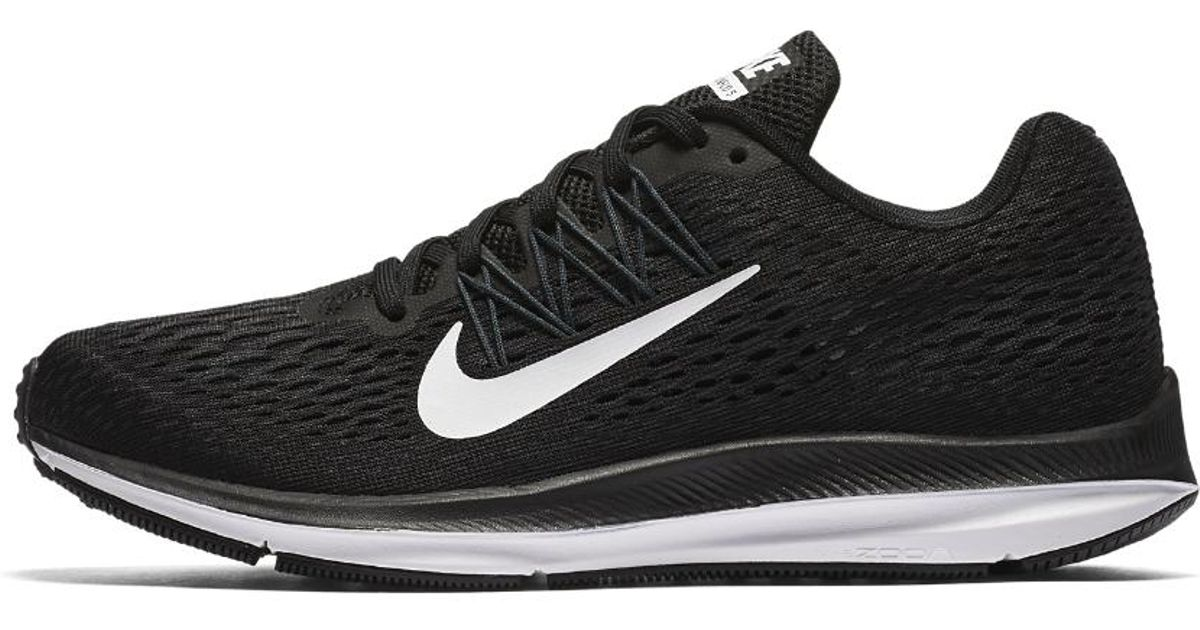 29f495859a4 Lyst - Nike Air Zoom Winflo 5 Women s Running Shoe in Black - Save 34%