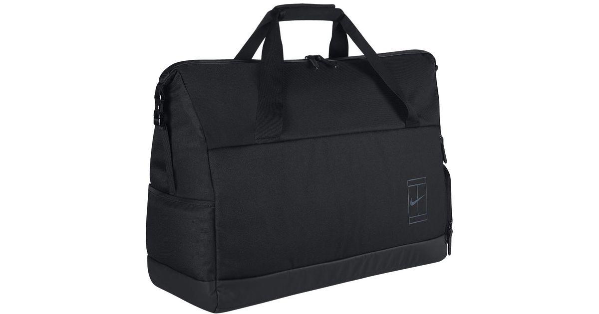 9e8af2d7d7a7 Lyst - Nike Court Advantage Tennis Duffel Bag (black) in Black for Men