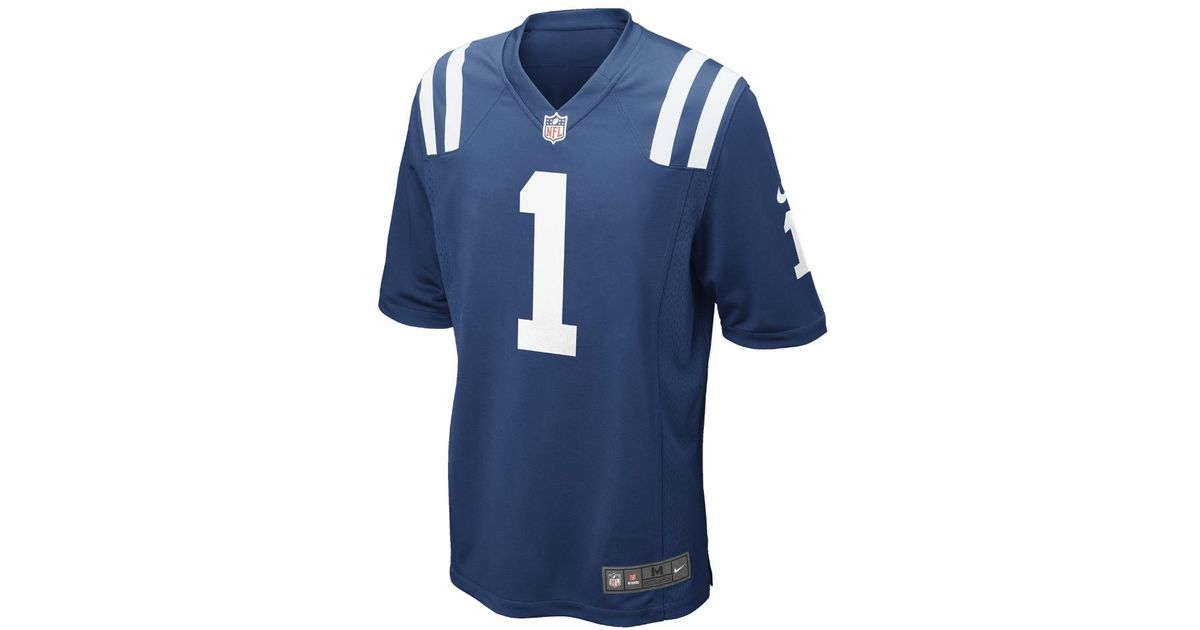 hot sale online d4237 c69ef Nike - Blue Nfl Indianapolis Colts (pat Mcafee) Men's Football Home Game  Jersey for Men - Lyst