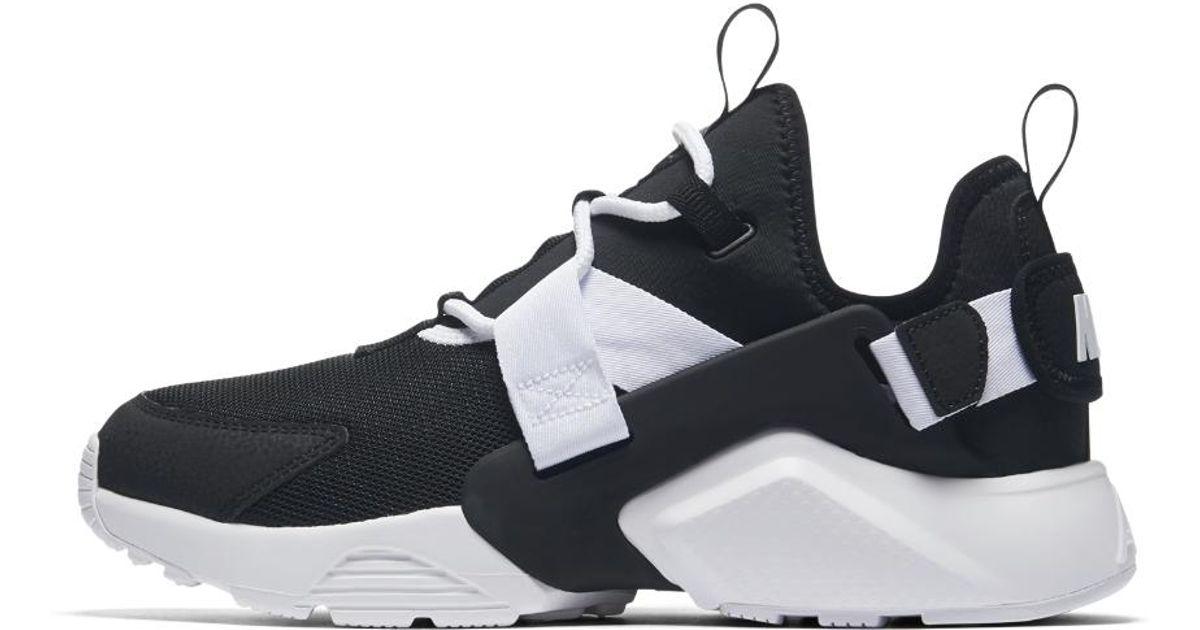 8887b68a0fd0b Lyst - Nike Air Huarache City Low Women s Shoe in Black