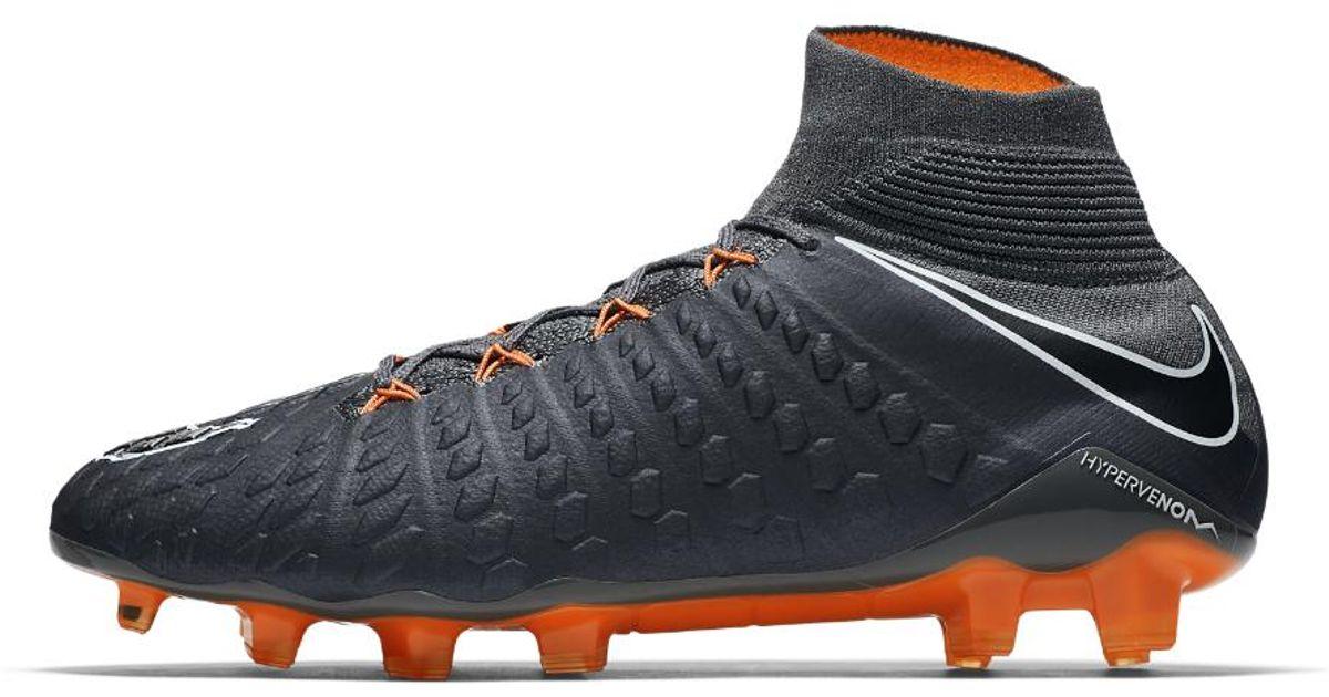 Lyst - Nike Hypervenom Phantom Iii Elite Dynamic Fit Fg Firm-ground Soccer  Cleats in Gray for Men 6090cb795d04d