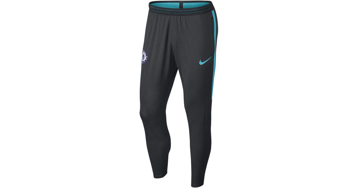 ae5682407e563 Nike Chelsea Fc Flex Strike Football Pants in Black for Men - Lyst