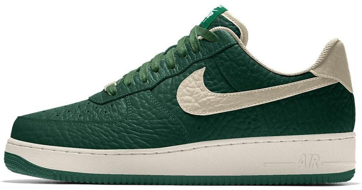 online store b527d 13e26 Nike Air Force 1 Low Premium Id (milwaukee Bucks) Men's Shoe in Green for  Men - Lyst