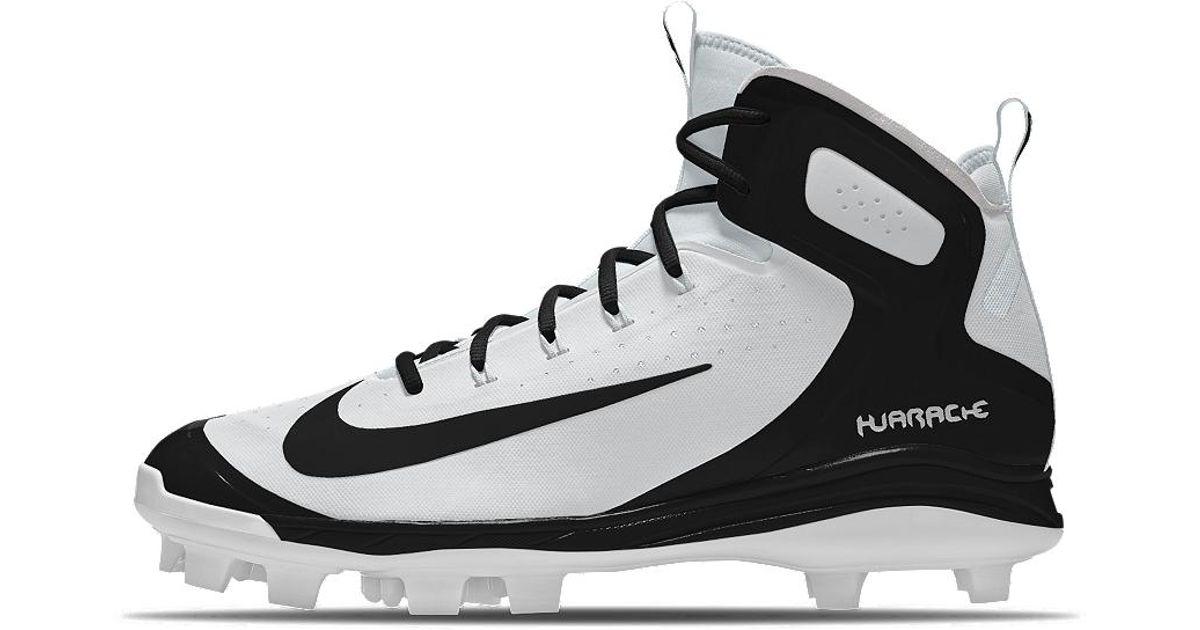 0fefb8dd Nike Alpha Huarache Elite Mid Mcs Id Men's Baseball Cleats in Black for Men  - Lyst