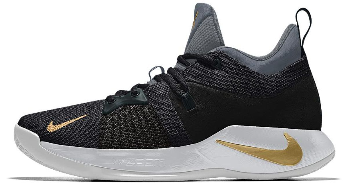 best website e3062 2657e Nike Pg 2 Id Men's Basketball Shoe in Black for Men - Lyst