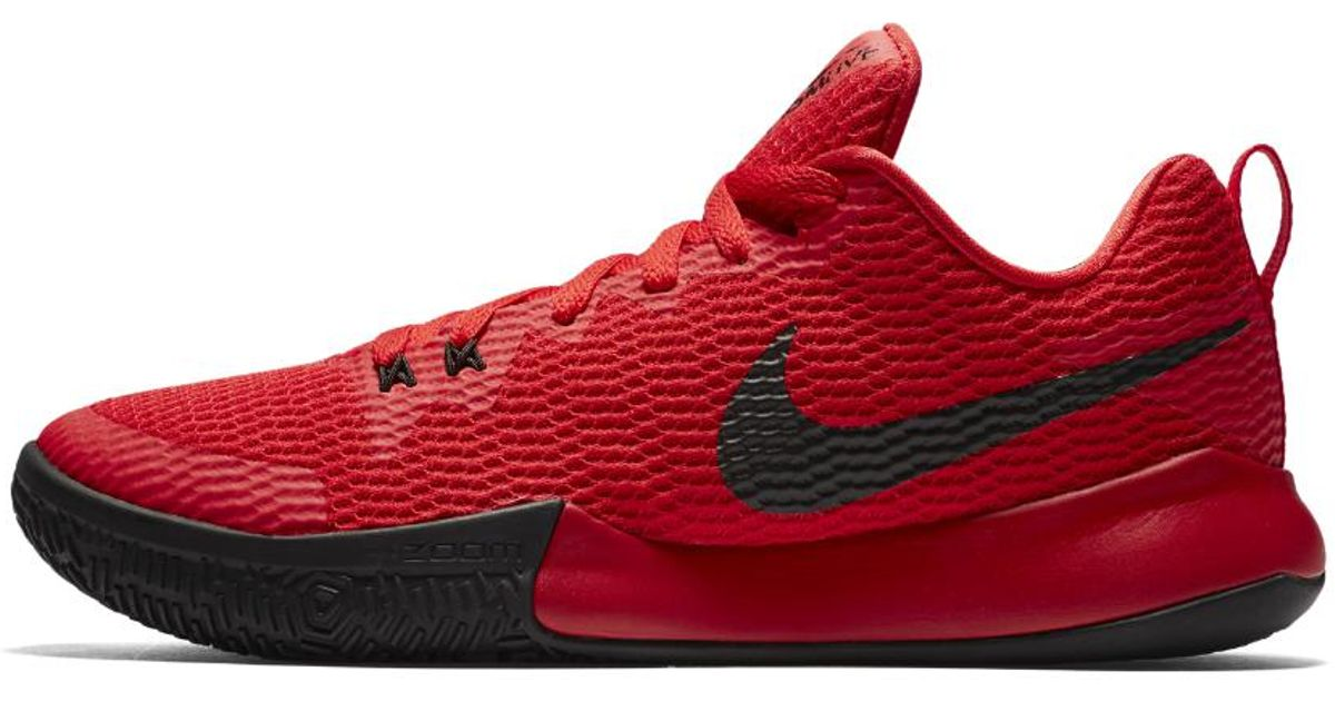 bb3135698cc7 Lyst - Nike Zoom Live Ii Men s Basketball Shoe in Red for Men