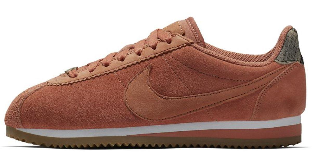 8f167a969f83a Lyst - Nike Classic Cortez Premium Women s Shoe in Brown