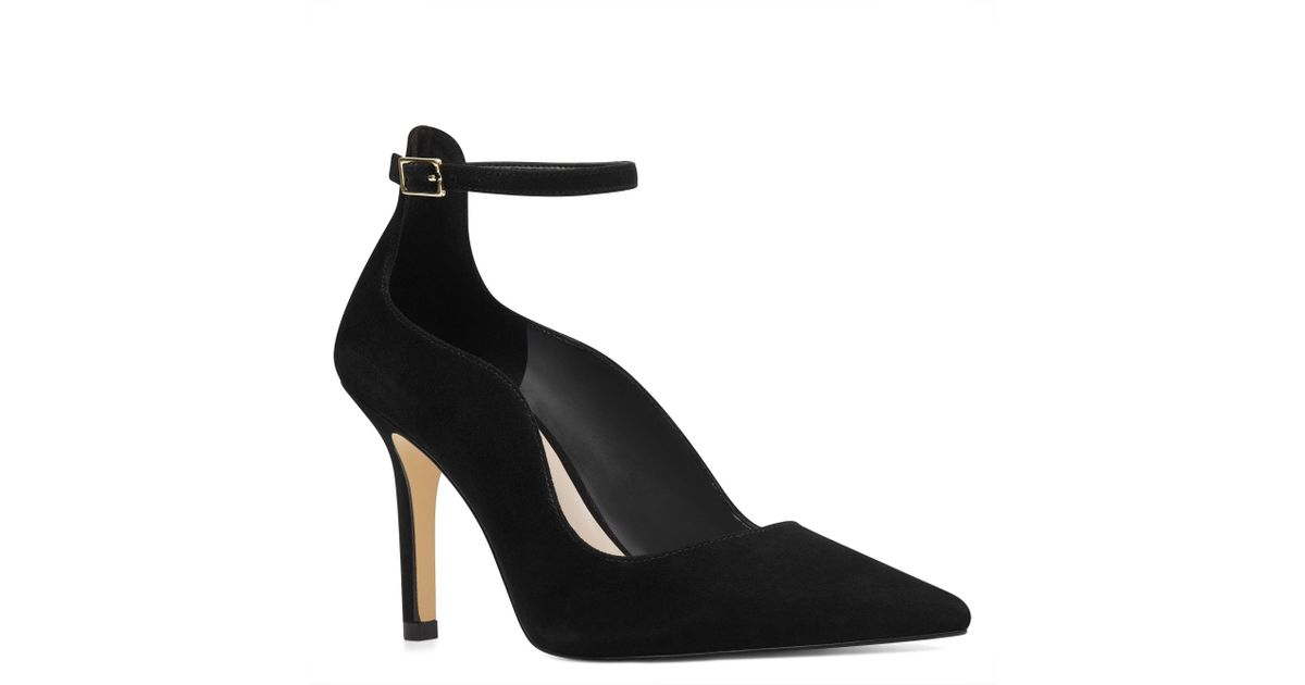666719856b0 Lyst - Nine West Marquisa Pointy Toe Pumps in Black