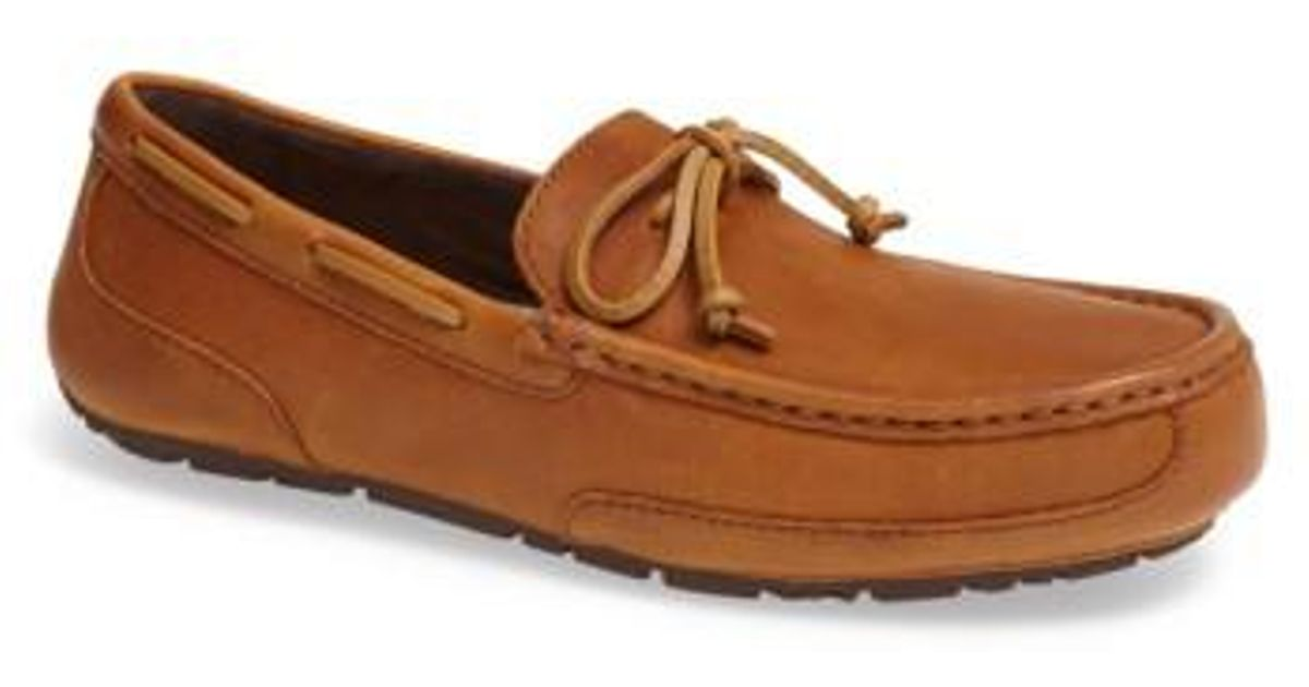 69ec4720add Ugg Brown 'Chester' Driving Loafer for men