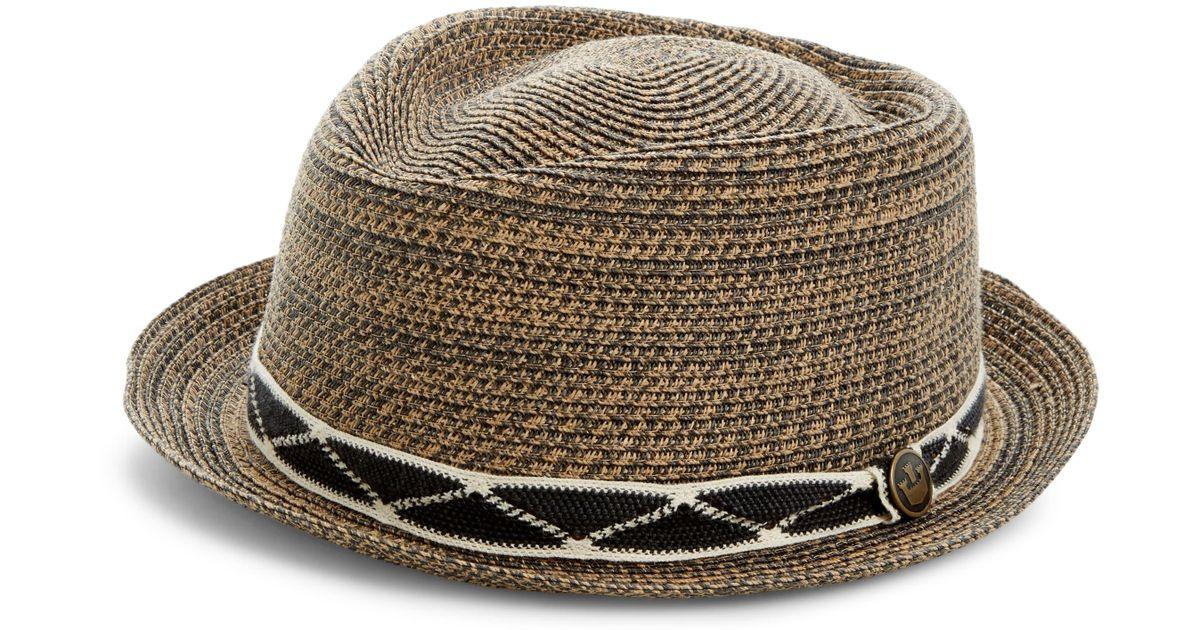 ec387857 Goorin Bros Albuquerque Straw Hat in Black for Men - Lyst