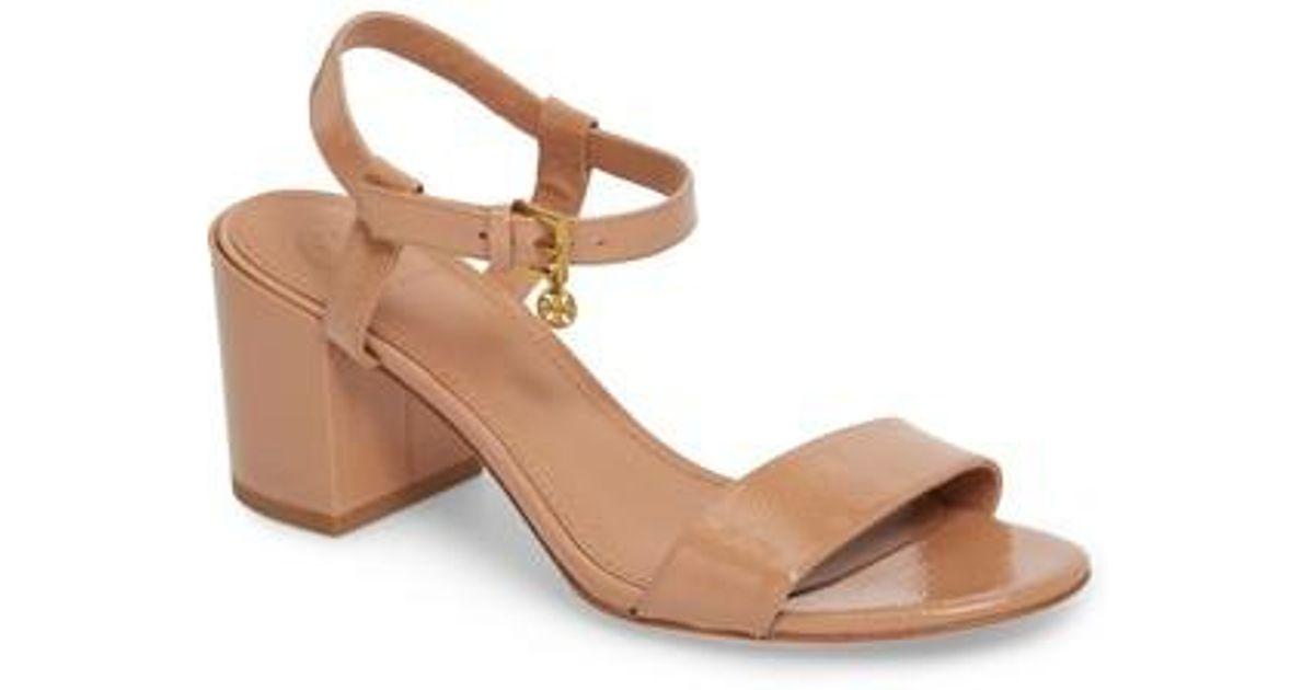 1645ab35352fa5 Lyst - Tory Burch Laurel Ankle Strap Sandal