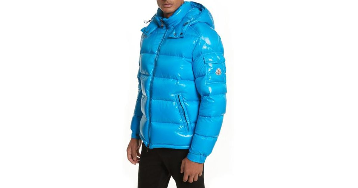 moncler blue maya jacket