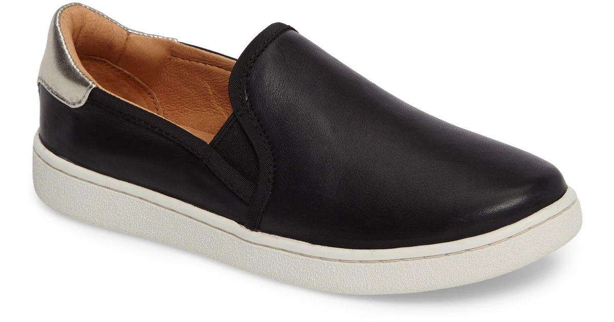 UGG Leather Ugg Cas Slip-on Sneaker in