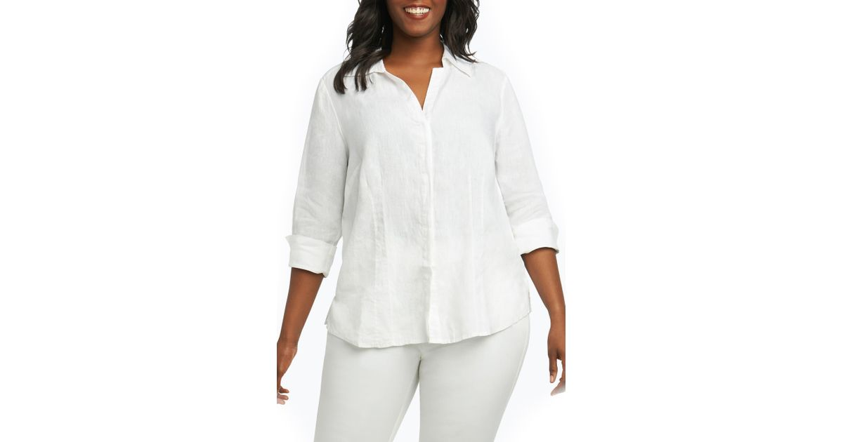Foxcroft Taylor Non-iron 3//4 Sleeve Shirt Dress Size 4 NWT Beach Wave Blue