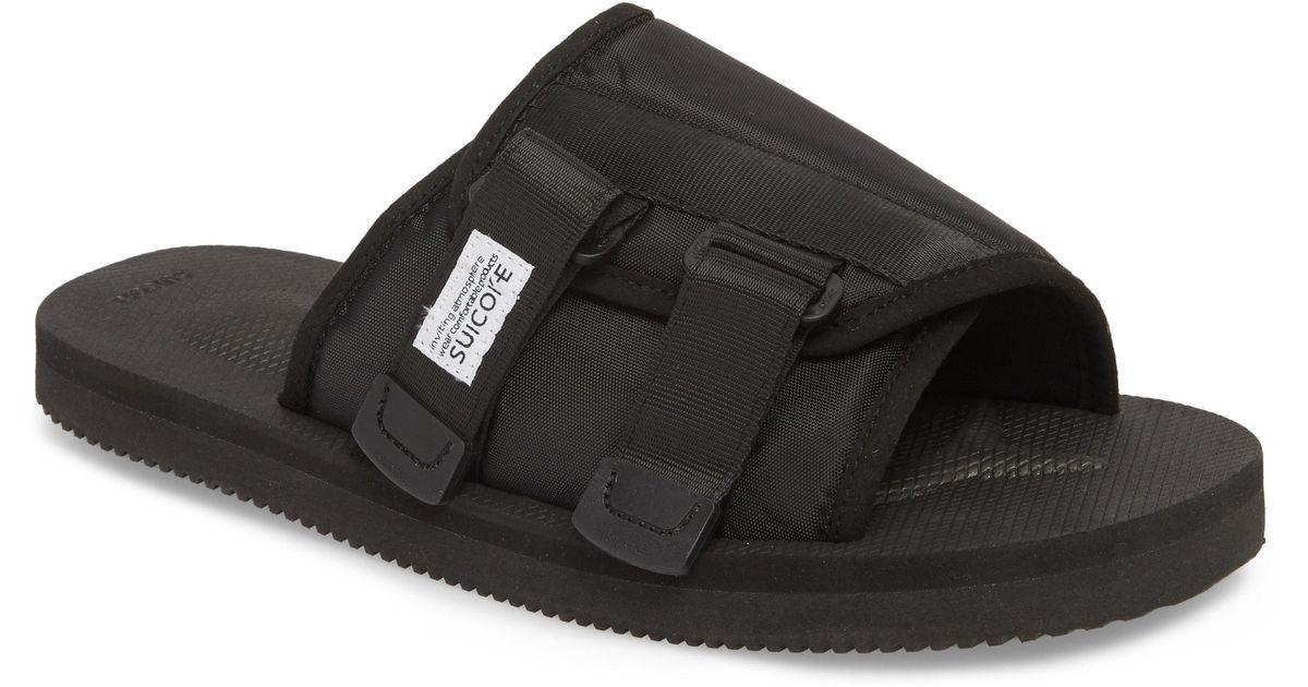 958ae33ce9a Lyst - Suicoke Kaw Cab Slide Sandal in Black for Men