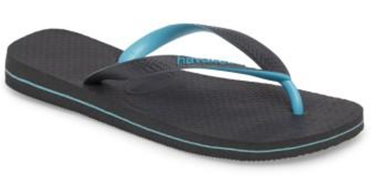 fe738a5258ef Lyst - Havaianas Top Logo Filete Mix Flip Flop in Gray for Men
