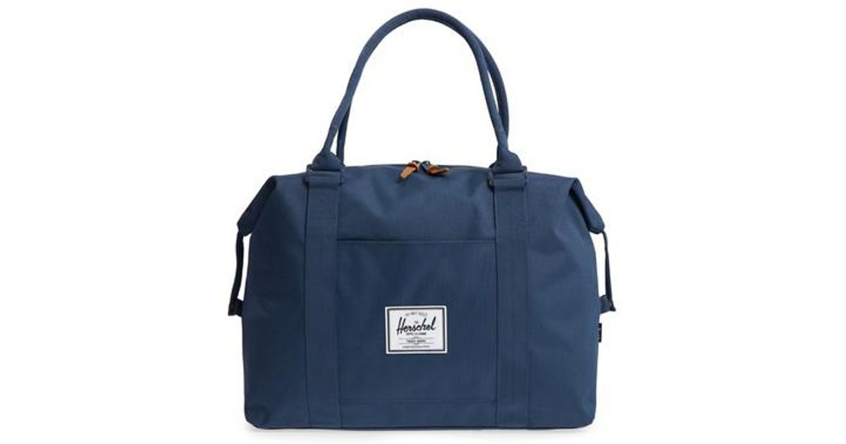 a527a0c40273 Lyst - Herschel Supply Co. Strand Duffel Bag in Blue