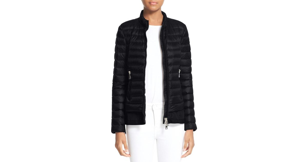 Moncler Black Diantha Water Resistant Down Jacket