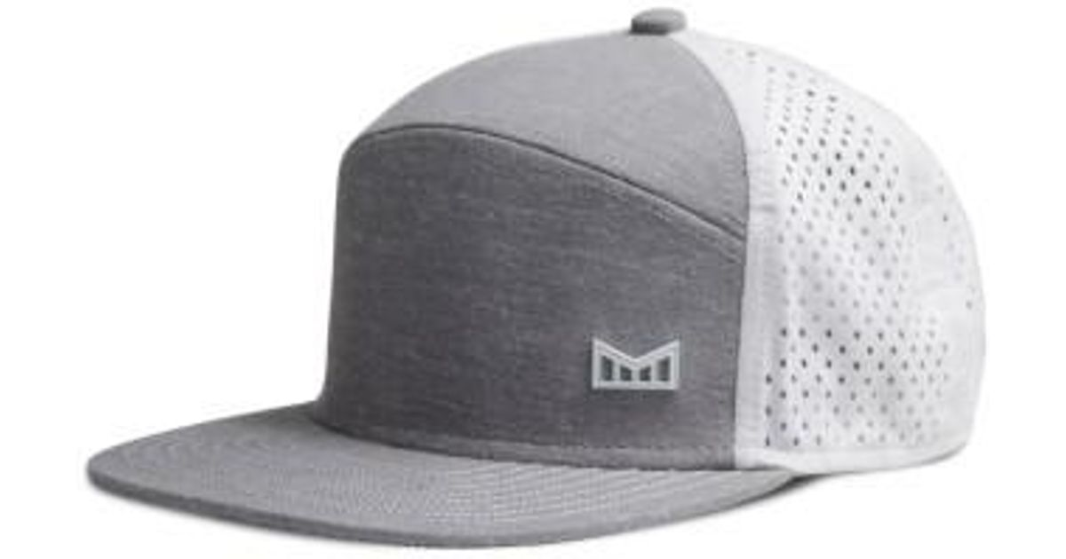 96f2d21da14 ... where can i buy lyst melin trenches snapback baseball cap in gray for  men 2f2db 126c4