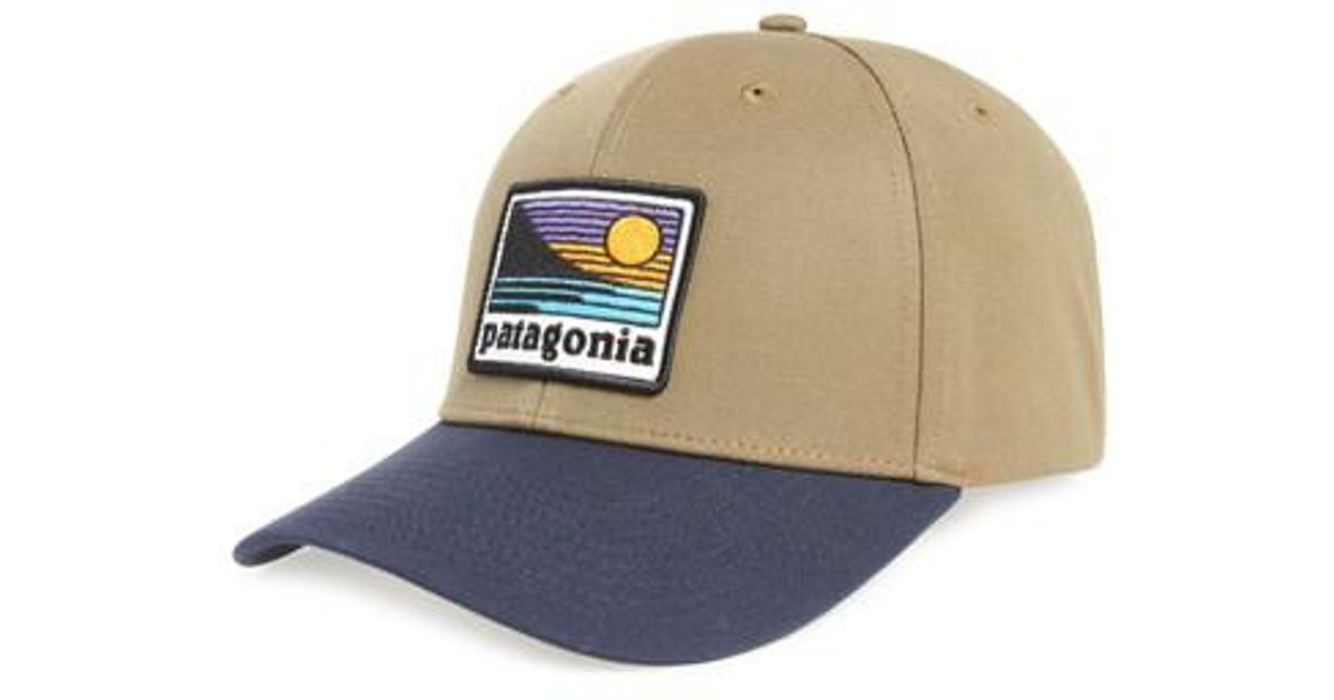 Lyst - Patagonia Up   Out Roger That Trucker Cap in Blue for Men 067f714f9e1