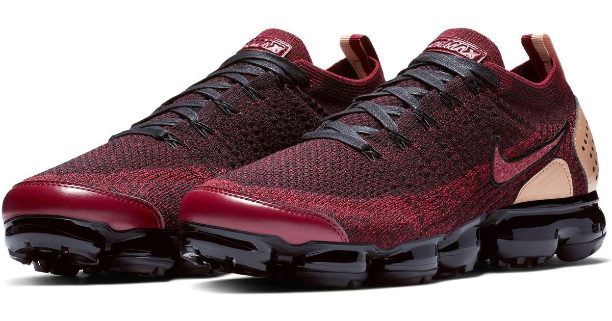 8e632112f9c94 Lyst - Nike Air Vapormax Flyknit 2 Nrg Running Shoe in Red for Men