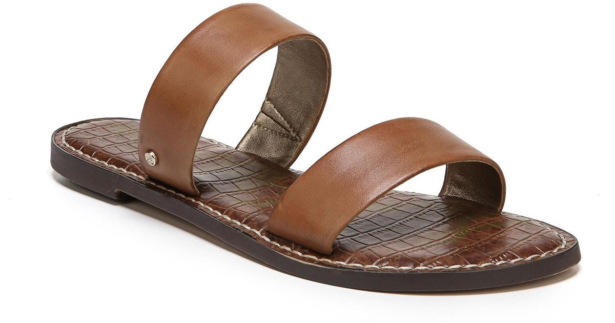 e607629b915 Lyst - Sam Edelman Gala Slide Sandal in Brown - Save 1%