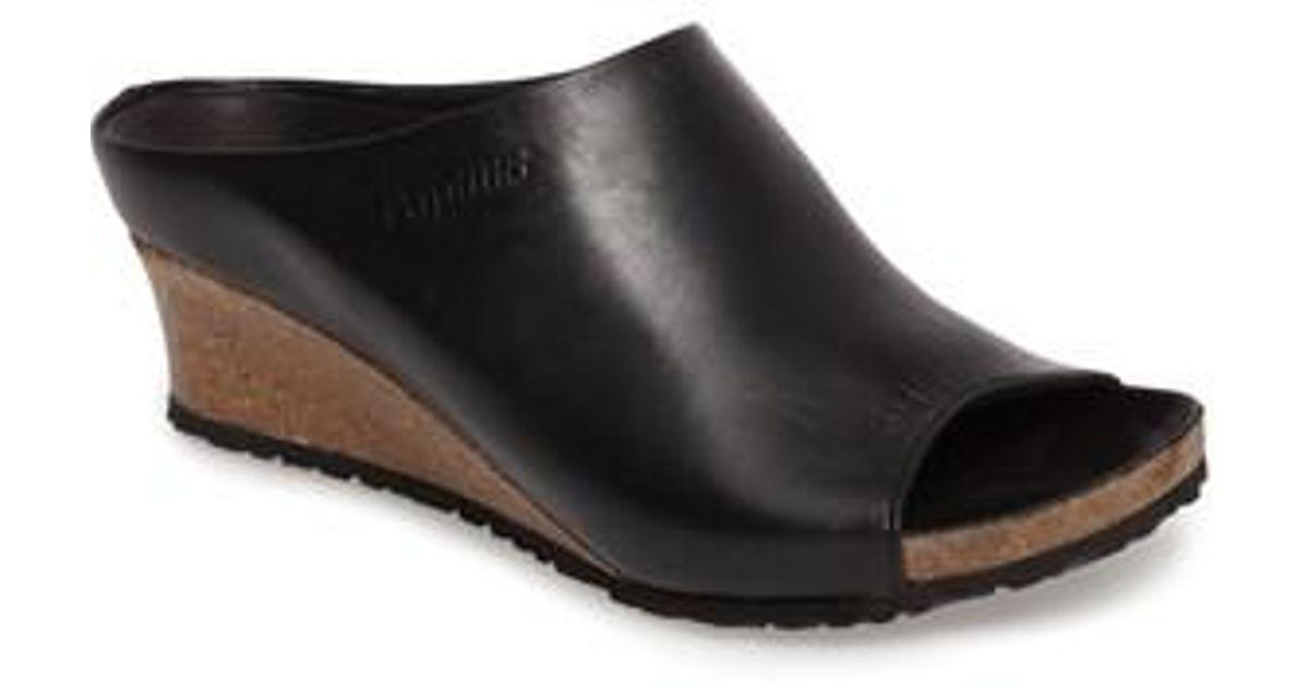 Birkenstock Leather Papillio Debby Open