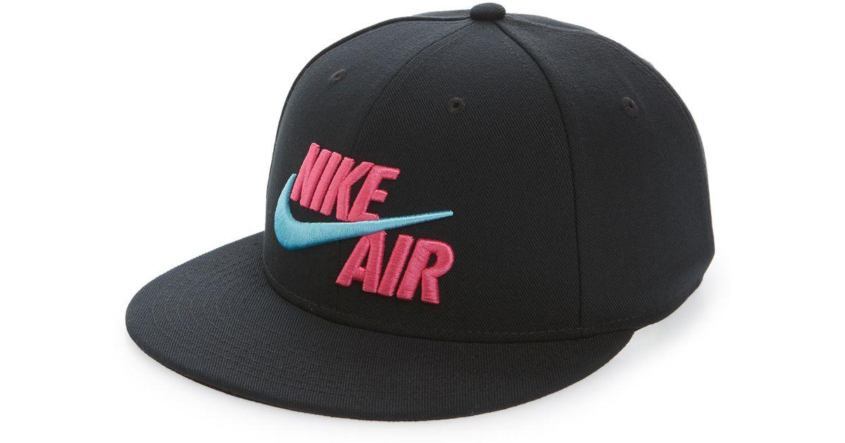 Lyst - Nike Air True Snapback Baseball Cap in Black for Men df80c2c6009