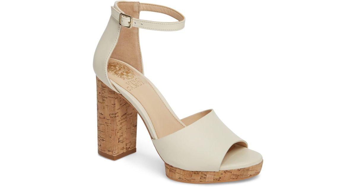 1bfb77fb3453 Lyst - Vince Camuto Ciestie Platform Sandal (women) in Metallic - Save  23.37662337662337%