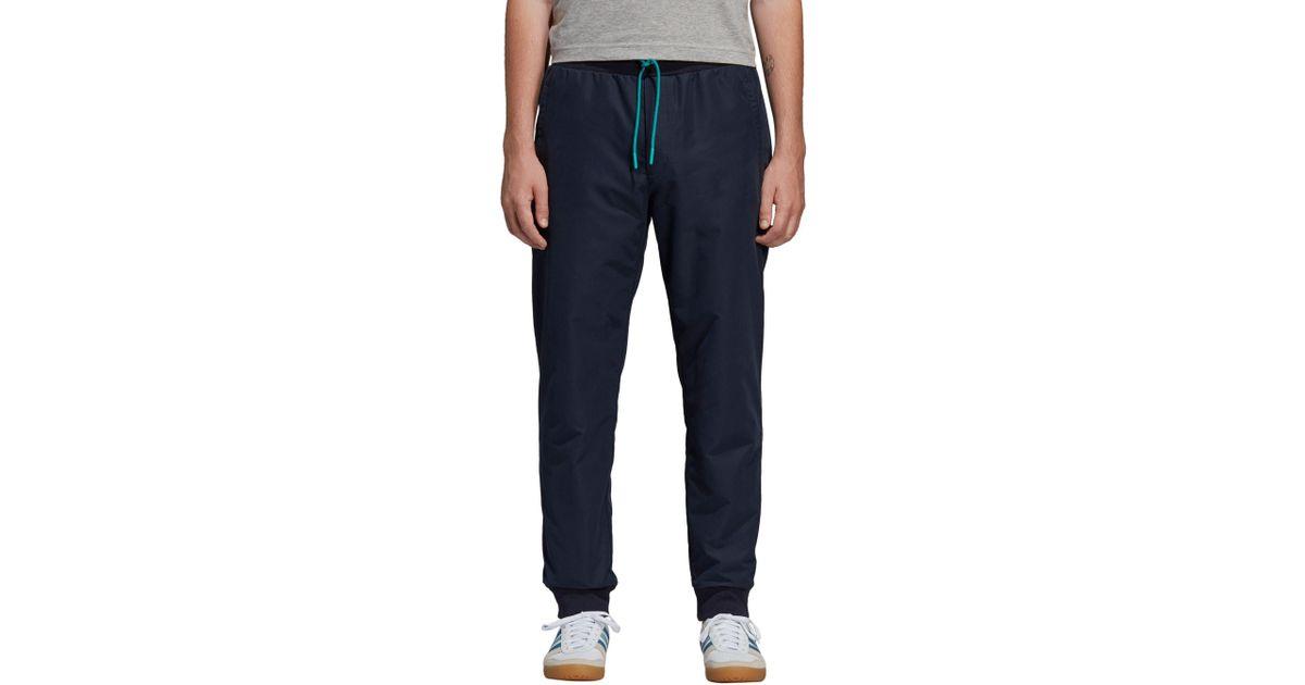 Lyst - adidas Originals Spezial Harpurphey Water Repellent Track Pants in  Blue for Men 3d1e1cb6c7e5e