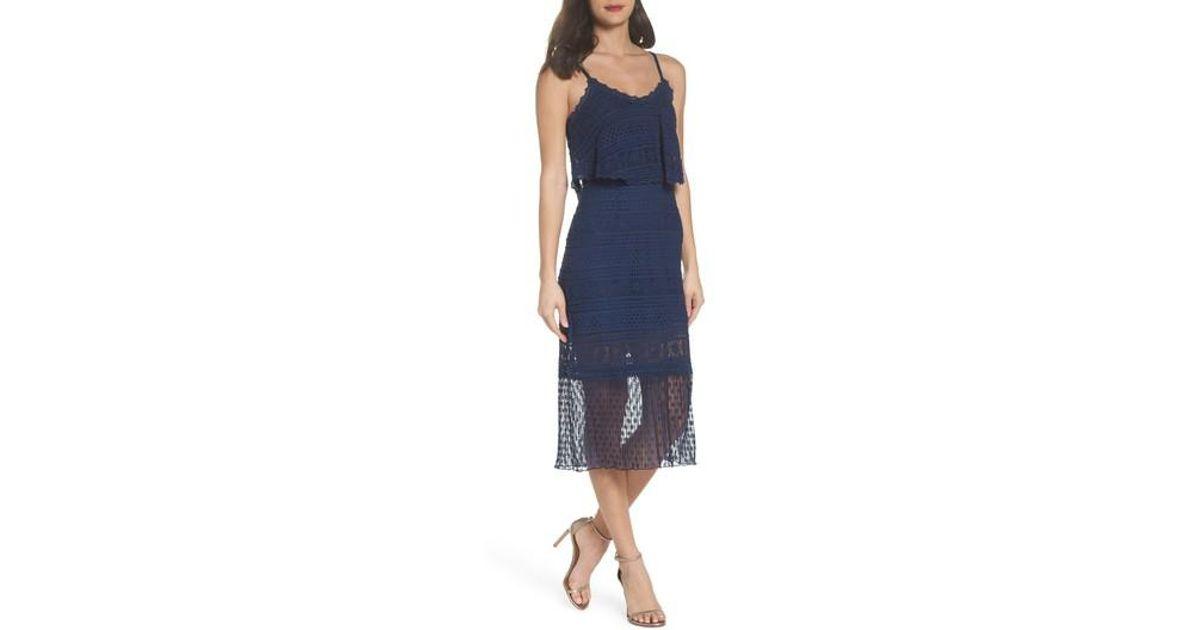 Shop Offer Cheap Online Discount Best Place Ellie lace dress Bcbgmaxazria Sale 2018 New Footlocker Outlet 2018 Newest WmcjVYhibR