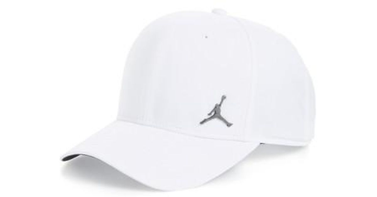 5b55207e27a Lyst - Nike Jordan Jumpman Classic 99 Baseball Cap in White for Men