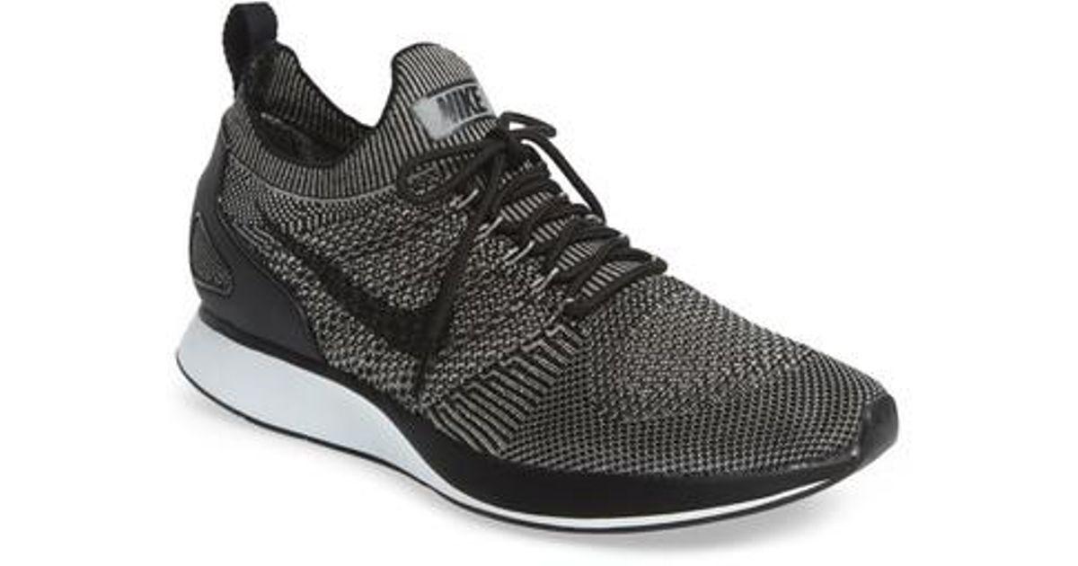 7daff973f07 Nike - Black Air Zoom Mariah Flyknit Racer Sneaker for Men - Lyst