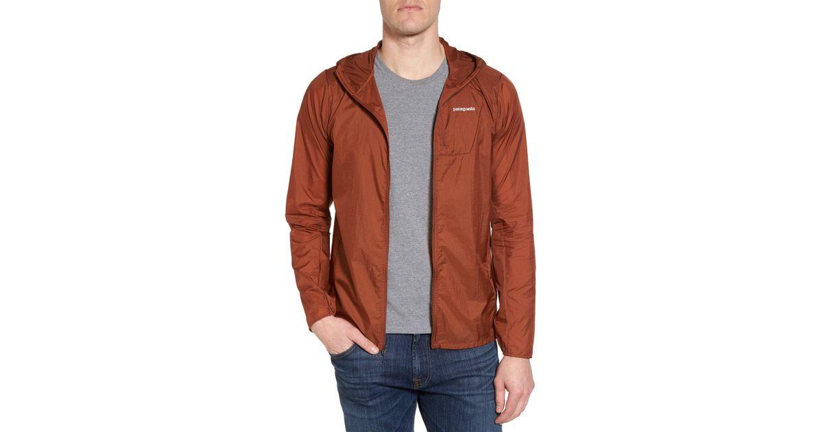 07ce0d084de0 Lyst - Patagonia  houdini  Slim Fit Water Repellent Hooded Jacket for Men