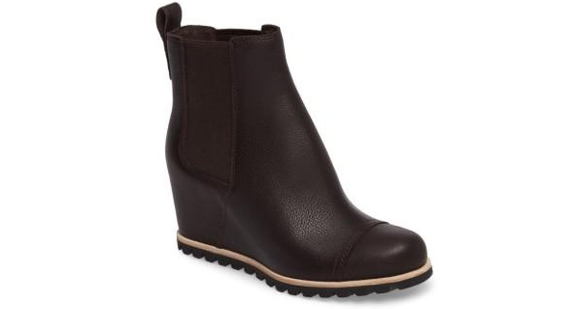 c00aa002f45 Ugg Black Ugg Pax Waterproof Wedge Boot