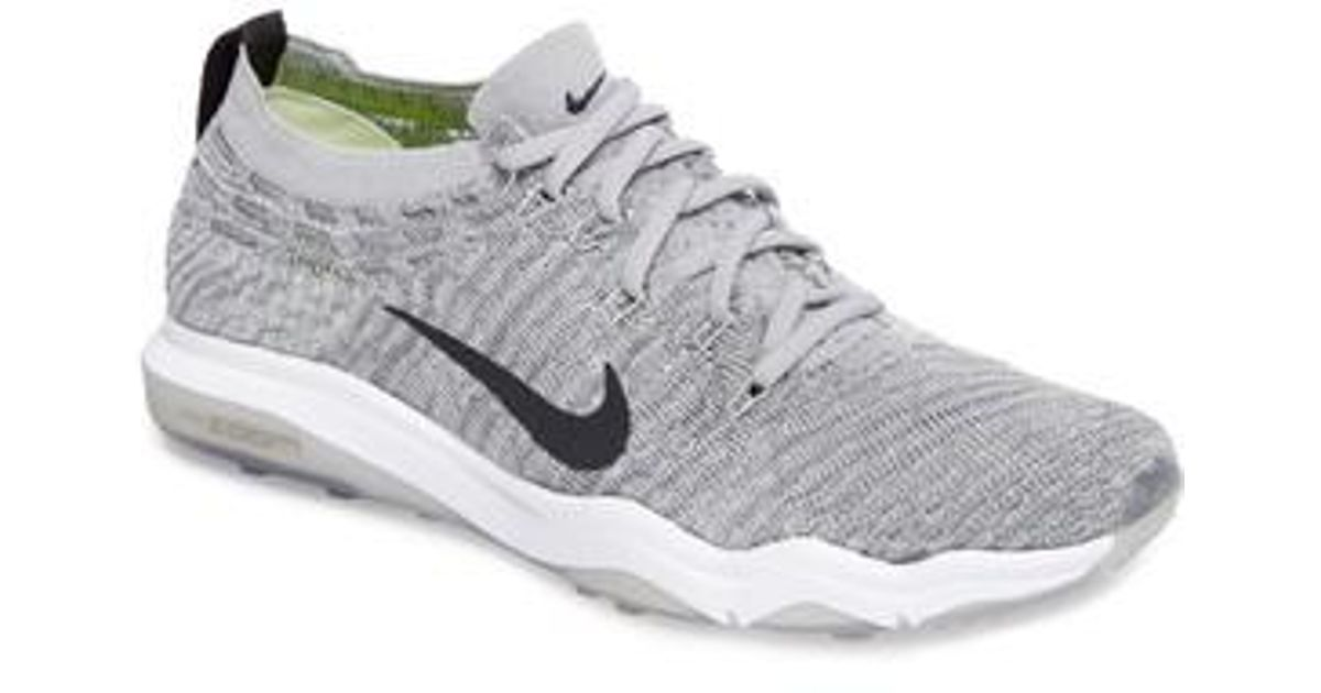 Nike - Gray Air Zoom Fearless Flyknit Lux Training Shoe for Men - Lyst e40d7ecac