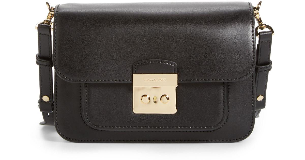 fe1c1201b7f7 Lyst - MICHAEL Michael Kors Large Sloan Editor Leather Shoulder Bag - in  Black