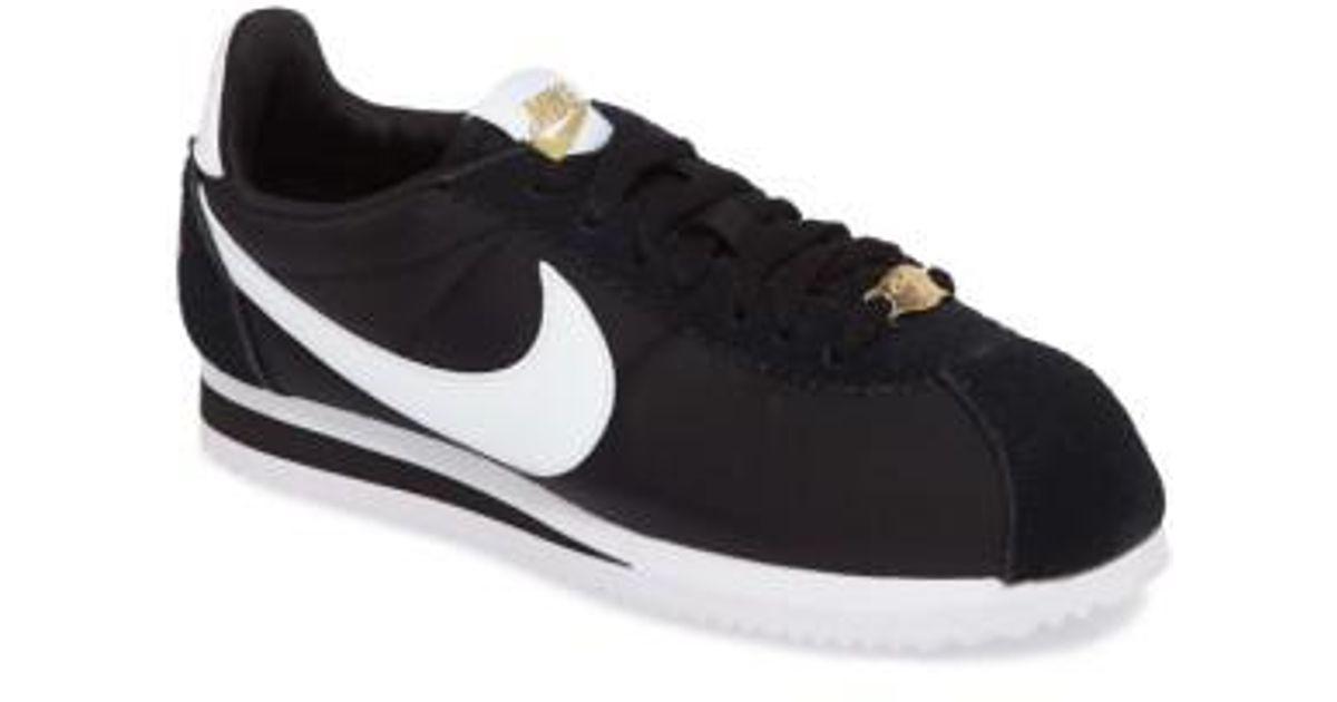 quality design 69acd 1c647 ... closeout lyst nike classic cortez premium xlv sneaker in black for men  0aadb 286e8