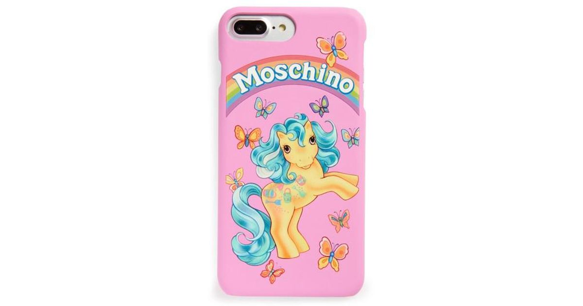 lowest price 55167 4d9fa Moschino Multicolor X My Little Pony Iphone 7 Plus Case -