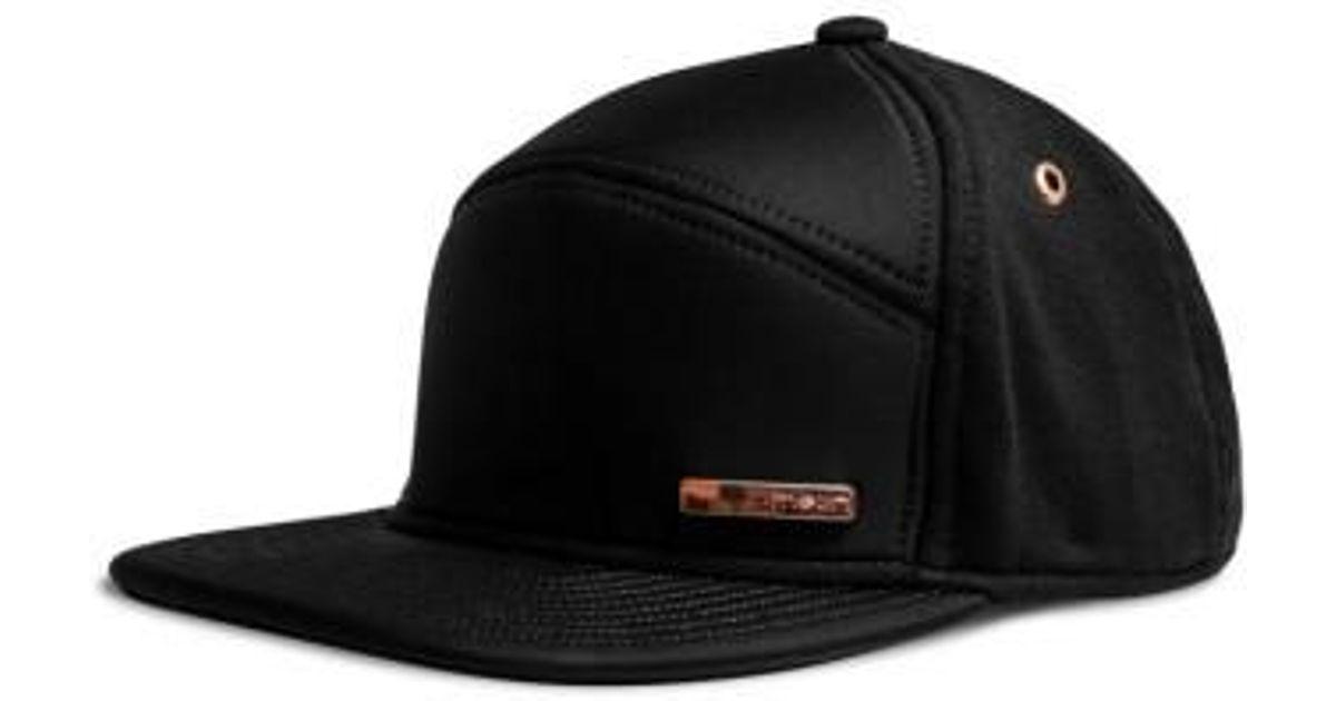 lowest price 29d96 c2ab4 ... sale lyst melin the mini bar baseball hat in black for men save 1.25  4988b e8ed0