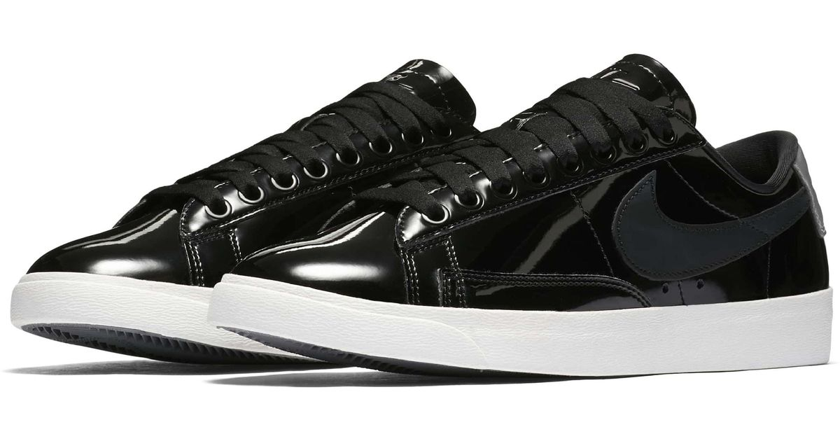 a898ff3fbd9c ... coupon code for lyst nike blazer low top sneaker se in black f242a 8c869